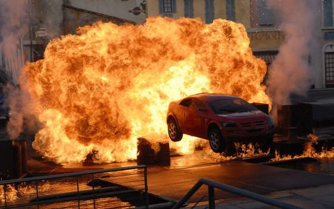 Film stunt show at Disney Hollwood Studios Florida