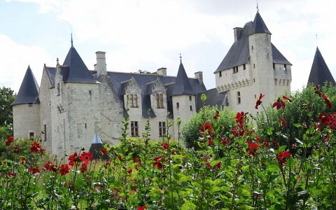 Château du Rivau and gardens - Anjou France