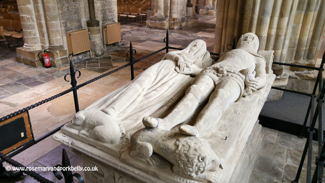 Arundel Tomb - Chichester Cathedral West Sussex