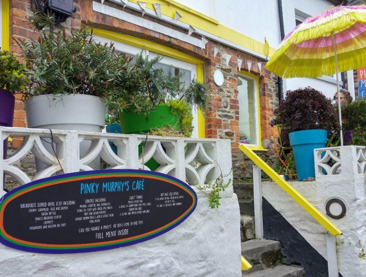 Pinky Murphy's café - Fowey Cornwall