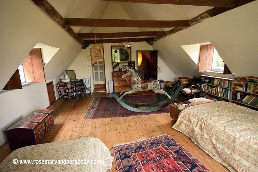 The attic bedroom - The Manor Hemingford Grey