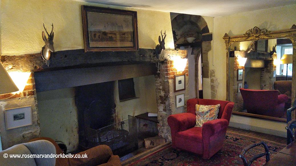 The dining room - The Manor Hemingford Grey