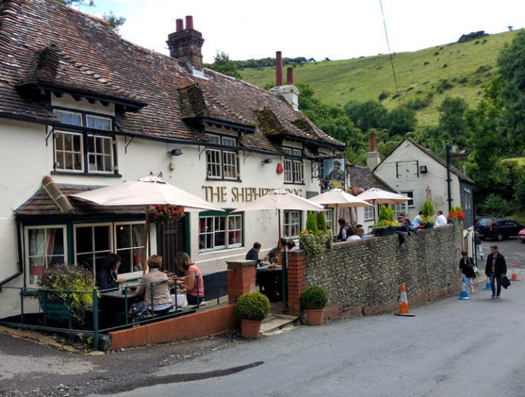 The Shepherd and Dog Fulking West Sussex UK