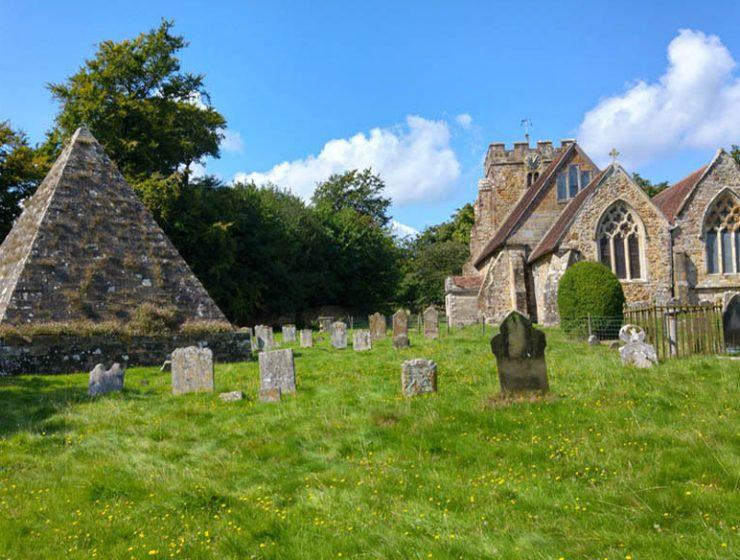 John 'Mad Jack' Fuller's Mausoleum - Brightling churchyard East Sussex