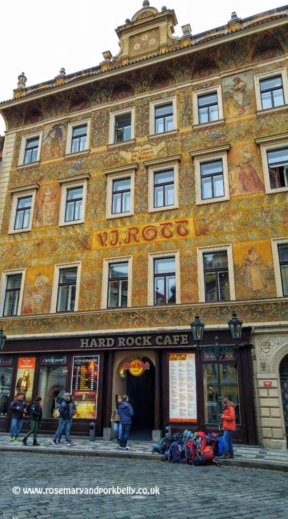 Hard Rock Cafe Prague Prices