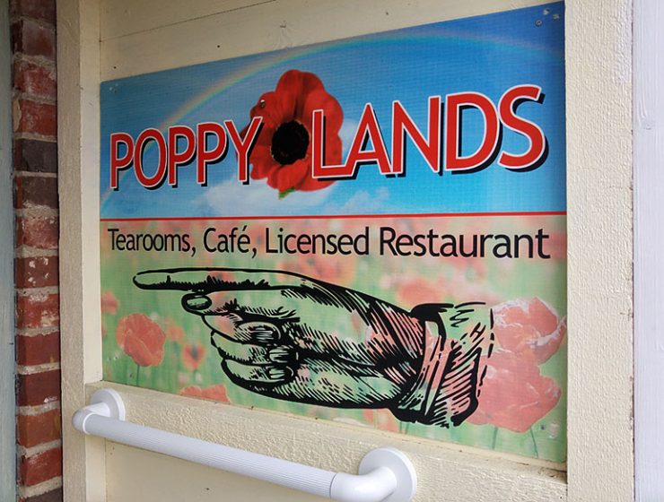 Poppylands tearooms and restaurant - Horsey Norfolk