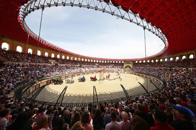 The Gallo Roman arena - Puy du Fou