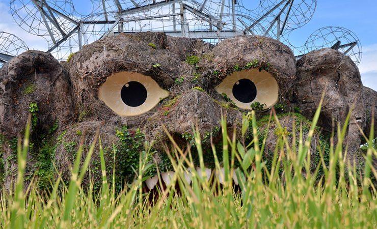 The Ogre's head Terra Botanica Angers France