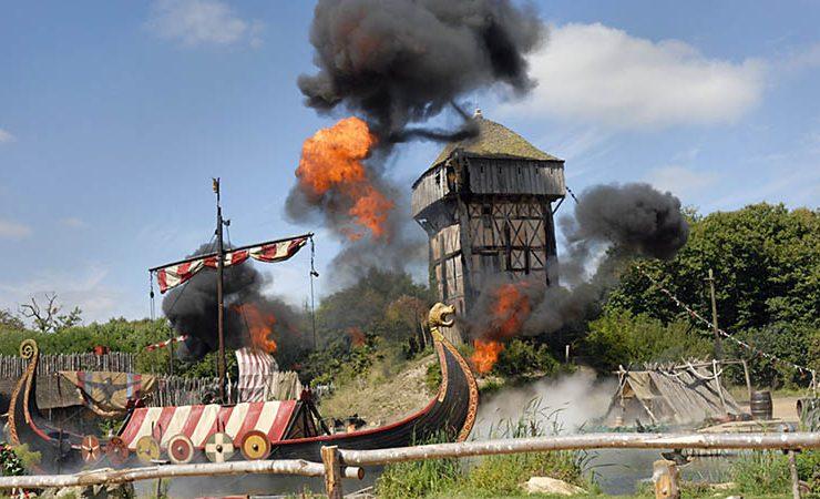 The Viking show - Puy du Fou Vendée France